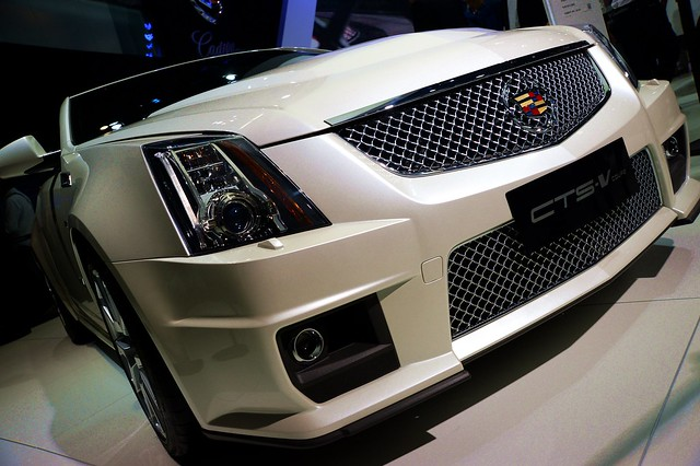 Beijing - Cadillac CTS-V Coupé