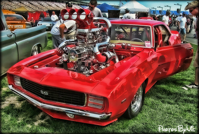 '69 Chevy Camaro Hot Rod