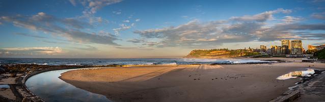 Newcastle Beach_Panorama