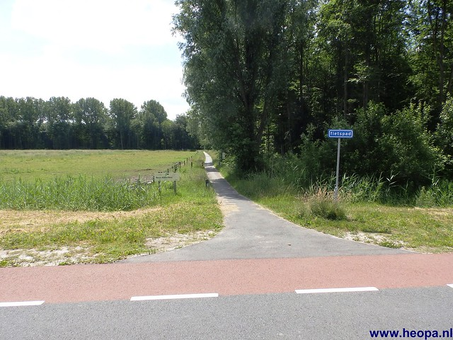 12-06-2014 Dronten Roggebotzand  20 Km (35)