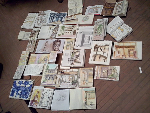 44th sketchcrawl, results | by Luis_Ruiz