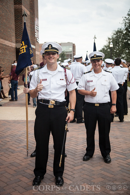 Texas A&M Corps of Cadets Gameday Ole Miss 2016