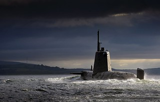 HMS Ambush Returning to HMNB Clyde, Scotland | by Defence Images