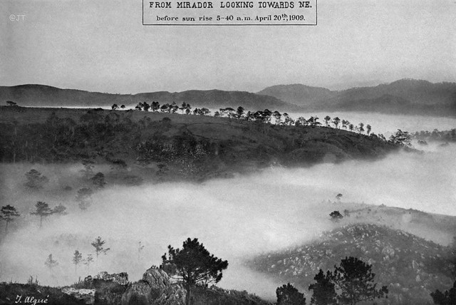 A view from Mirador Observatory, Baguio, Benguet, Luzon, Philippines, 1909 or before (5)