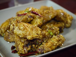 Dry Fried Chicken Wings from San Tung | by the foodhoe