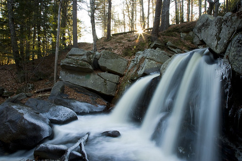thanksgiving sunset fall ice forest canon river waterfall stream autum massachusetts newengland falls brook ashby 1dsmarkii stateforest 24105l trapfalls willardbrookstateforest trapfallbrook