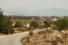 Between Struga and the Albanian border