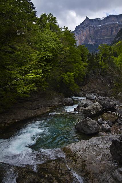 Pyrenees Waterfall