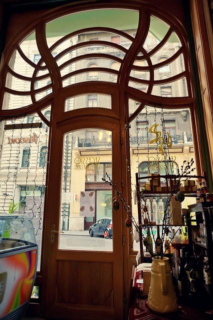 Budapest Art Nouveau. Secessio Café
