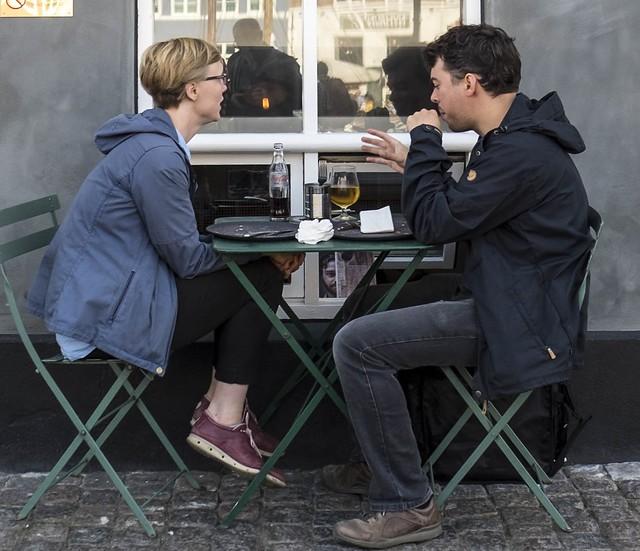 Worldwide Photowalk Copenhagen 2016 - A drink at the pavement
