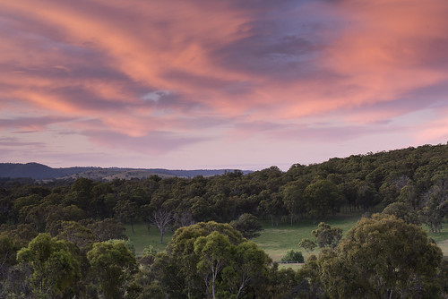 colour color sky sunset clouds trees grass farm outdoors rural armidale invergowrie newengland newsouthwales nsw australia nikond750 tamron90mmmacrovcusm nisi 3stophardgrad tripod