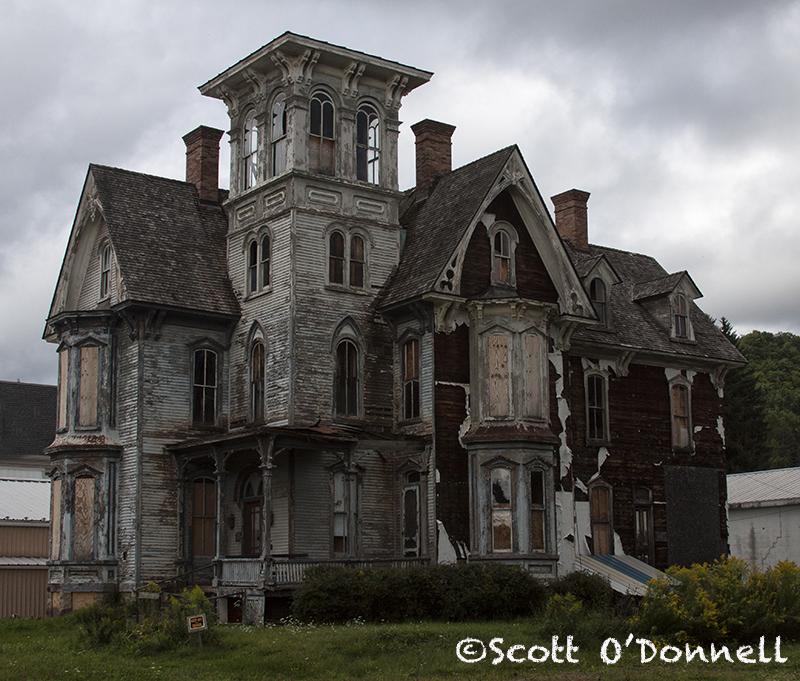 Coudersport Mansion | Abandoned old mansion in Coudersport