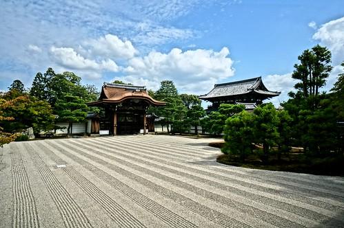 Rock Garden in Ninnaji Temple   by MrHicks46