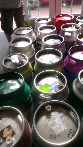 Beer Festival Casks