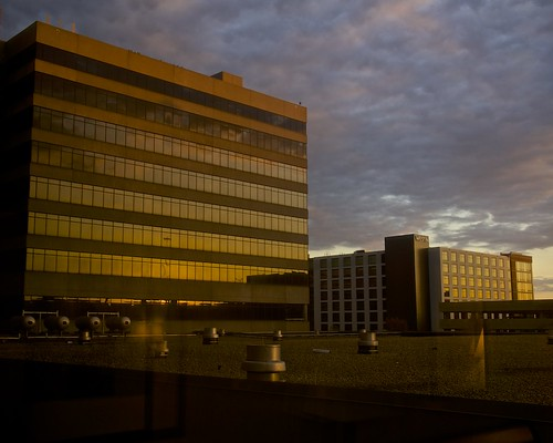 reflection clouds sunrise dawn twilight birmingham alabama sheratonbirminghamhotel sonynex6 sel1670f4za