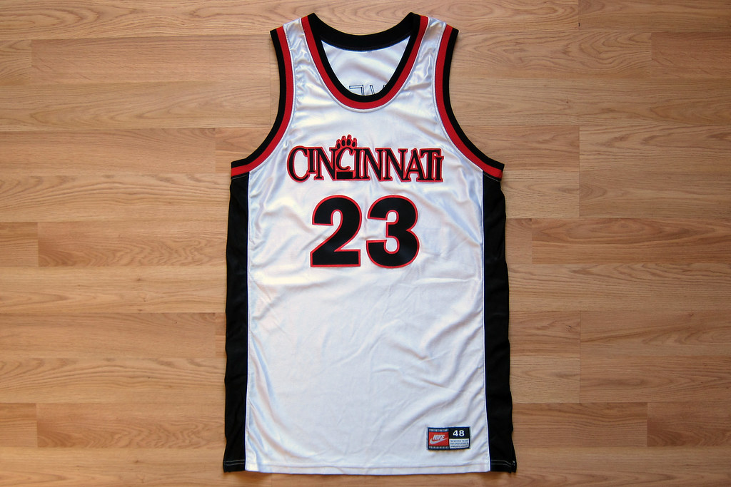 big sale e4163 f1d2a Game-Issued Cincinnati Bearcats Basketball Jersey | Made by ...