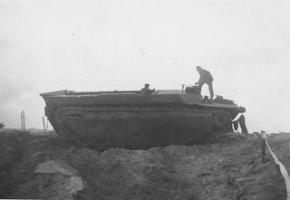 Destroyed Alligator Tank