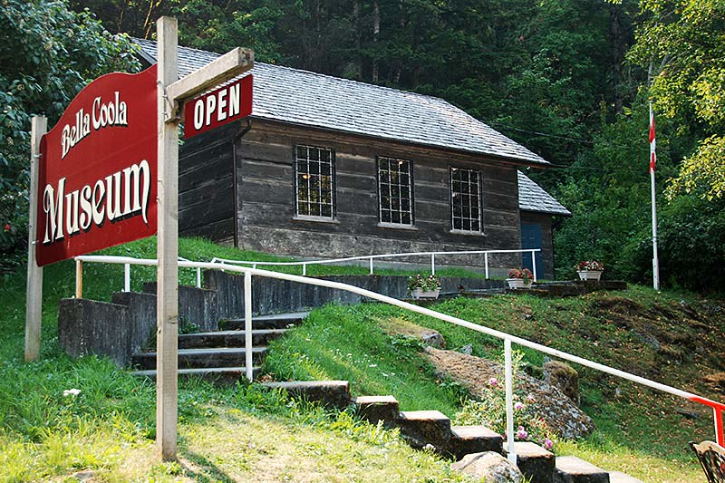 Bella Coola Museum, Bella Coola, Bella Coola Valley, Coast of Central British Columbia
