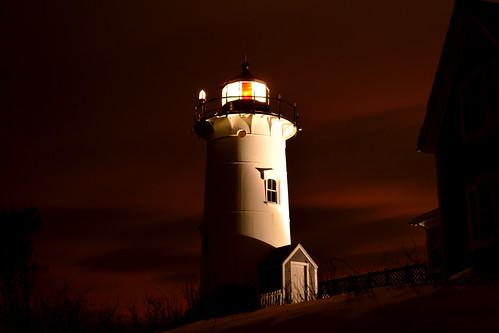 red lighthouse woodshole falmouth nobska falmouthma nobskalight