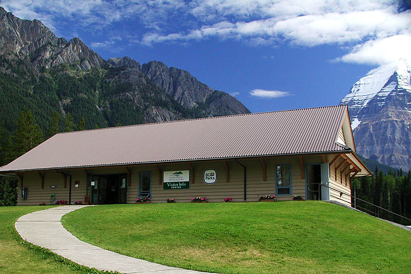 Mount Robson Visitor Centre, Mount Robson Provincial Park, Canadian Rocky Mountains, British Columbia