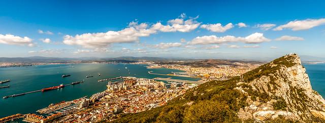 Gibraltar panorama - Version 2 - Explored