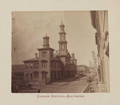 Camden Station - Baltimore. | by SMU Libraries Digital Collections