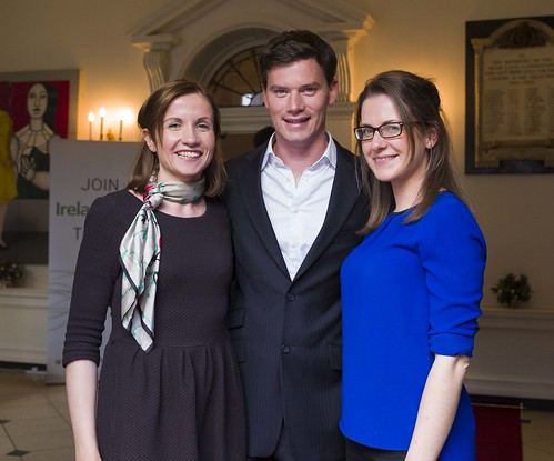 Aoife O' Donnell, Vital Communications; Joe Newell, GP Buddy; Marie Feely, Vital Communications