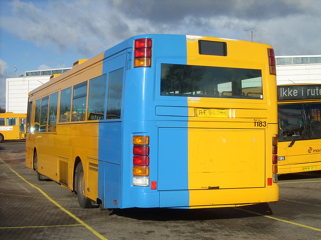 1999 Volvo B10BLE ARRIVA 1183 with new blue corners