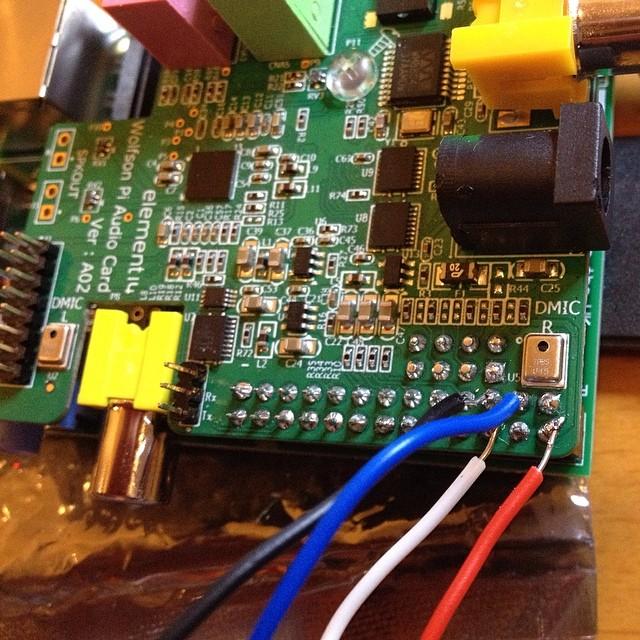 MCP23008 I2C 8 GPIO + Wolfson Audio + RPi Hack | soundspade