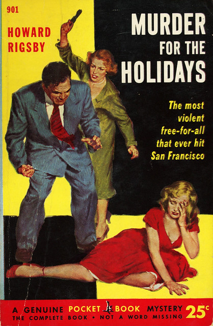 Pocket Books 901 - Howard Rigsby - Murder for the Holidays