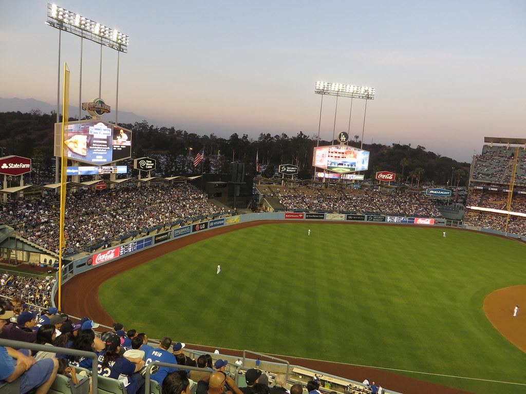 St  Louis Cardinals 0, Los Angeles Dodgers 0, Dodger Stadi