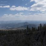 Bunsen Peak from Sepulcher Mountain