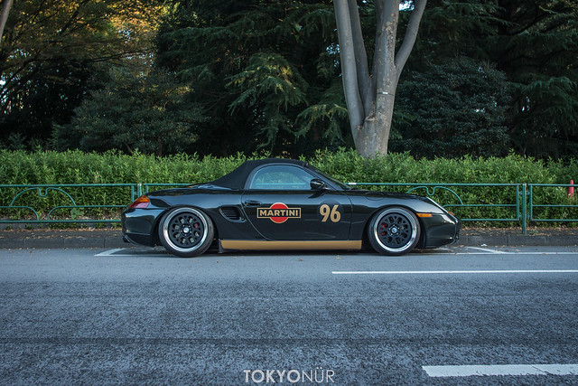 Freee's City Chapter:Just A City Boy. Born And Raised In Middle Of Tokyo - Den Style Martini Porsche 986 Boxster S