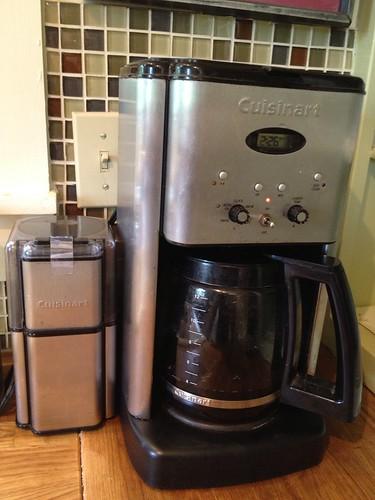 Home coffee maker repair