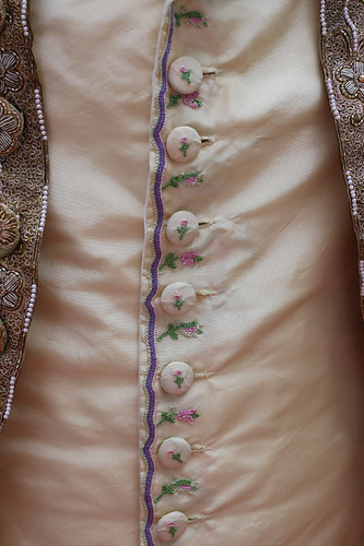 Tambour embroidered waistcoat | by demode