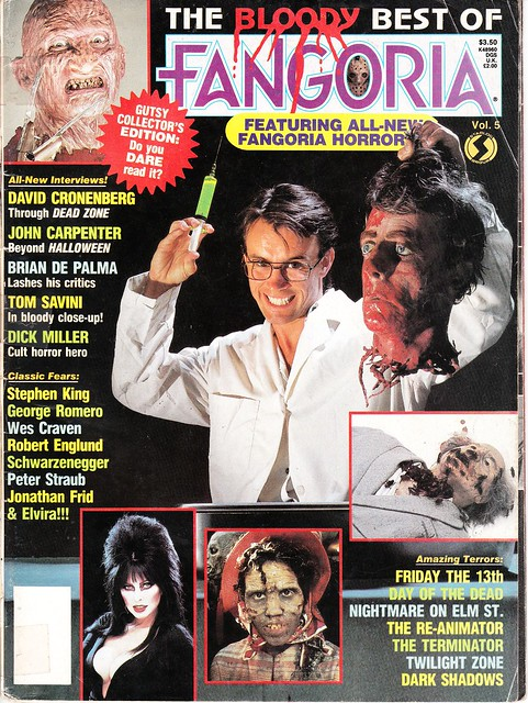 The Bloody Best of Fangoria v5 (1986) - cover