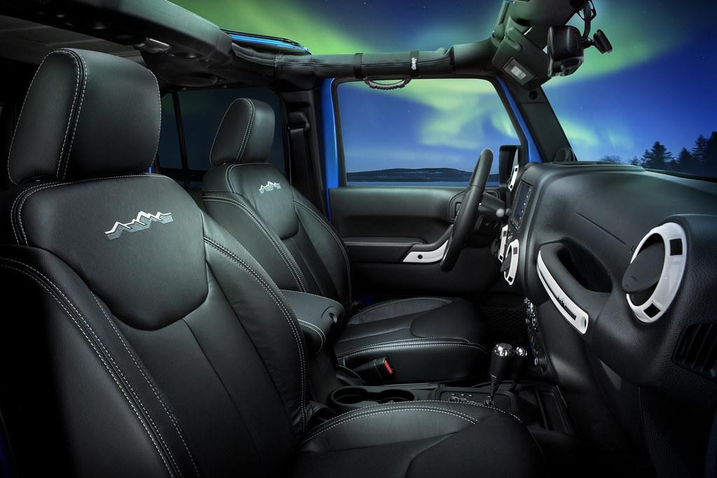 2014 Jeep Wrangler Unlimited Polar Edition The Interior Fe Flickr