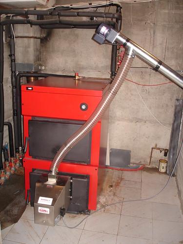 Ολοκληρωμένο σύστημα καύσης pellet με καυστήρα Pellas X   by energon - Pellet Systems
