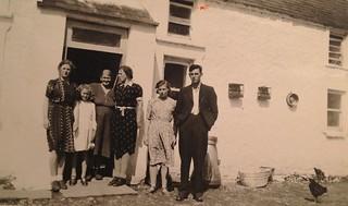 the Mulcahy family in Rathwood, Abington, Co. limerick / Shannon Ireland, 1948