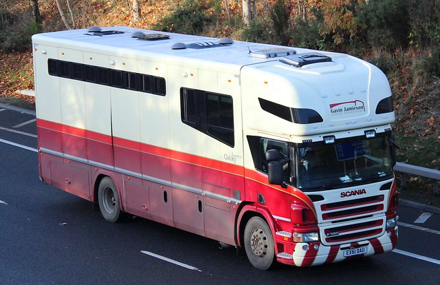 SCANIA P320 Oakley - GAVIN JAMIESON Horse Transport Penicuik Midlothian