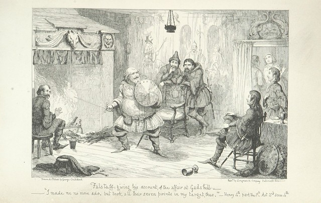 """British Library digitised image from page 113 of """"The Life of Sir John Falstaff"""""""