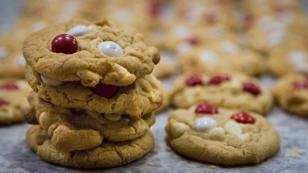 White Chocolate Peppermint M M Cookies Schooner Darrow Flickr