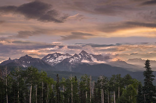 Wilson Peak from Telluride  07-18-2011 3160 | by Richard Hurd