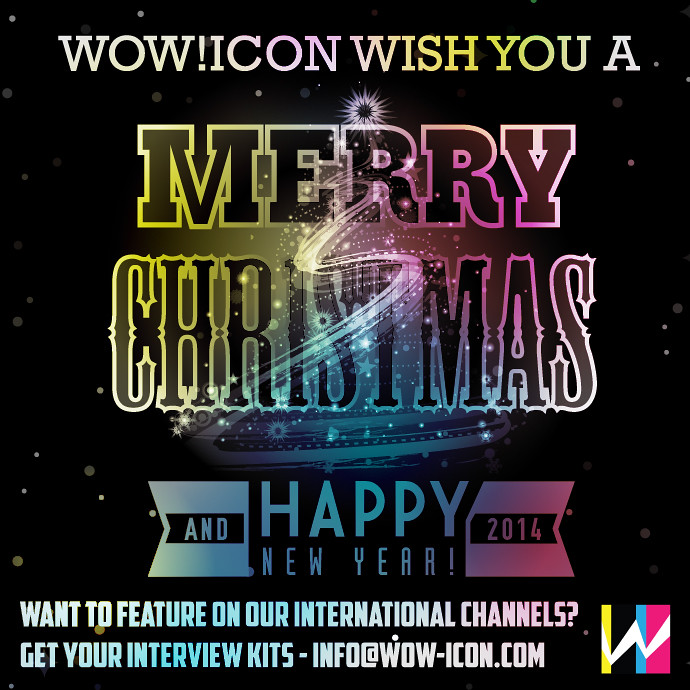 Wow!iCon wish you Merry Christmas and Happy New Year!   Flickr