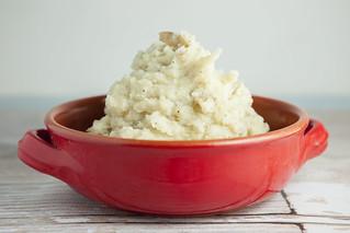 Creamy Garlic Dairy Free Mashed Potatoes   by brooklynfarmgirl