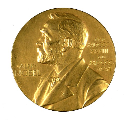 Nobel Prize medal inscribed to F. G. Banting | by Thomas Fisher Rare Book Library, UofT