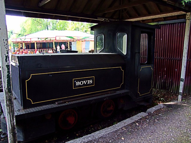 1971 built Hunslet Battery Electric loco, at Bressingham. 26 05 2013