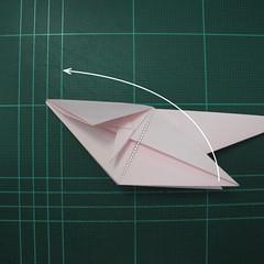 การพับกระดาษเป็นไดโนเสาร์ทีเร็กซ์ (Origami Tyrannosaurus Rex) 022