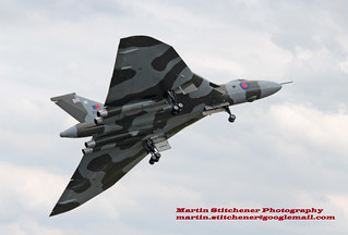 Vulcan XH558 take off Waddington 5th July 2014 | by Martin D Stitchener PiccAddo Photography