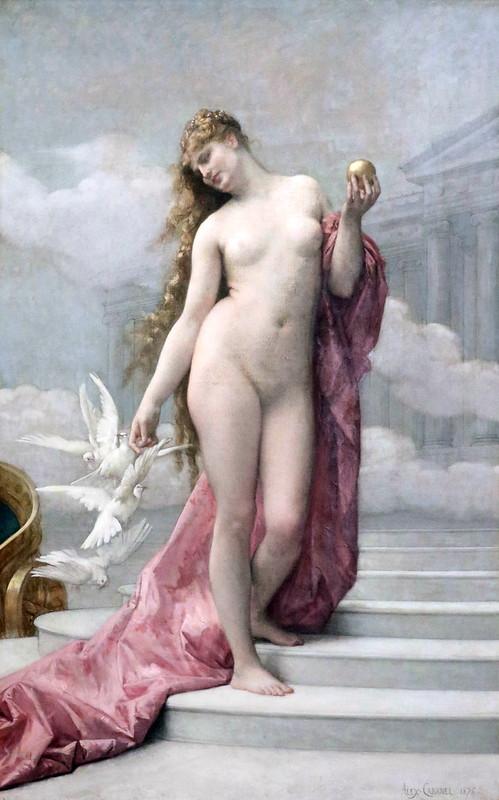 IMG_3438O Alexandre Cabanel. 1823-1889. Paris. Vénus. 1875.   Montpellier Musée Fabre.